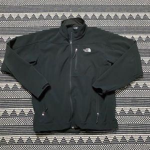 North Face Black Wind-stopper Jacket